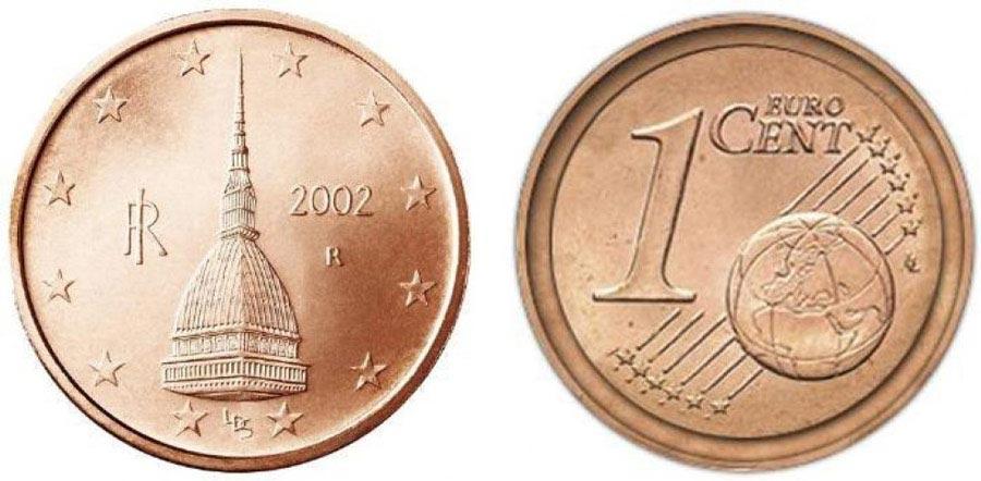 monete euro rare da 1 centesimo