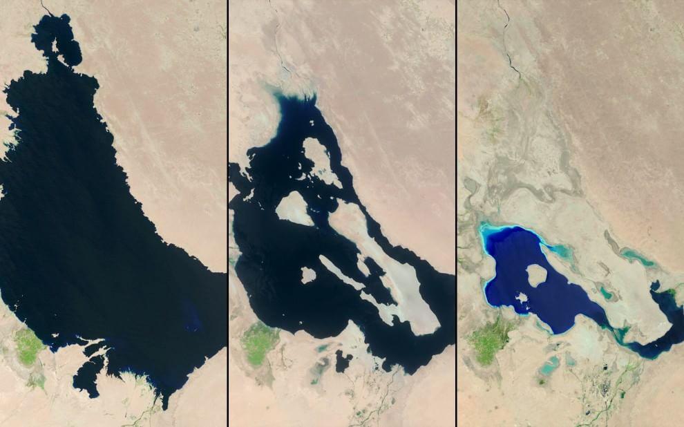 La Terra sta cambiando: le immagini della Nasa