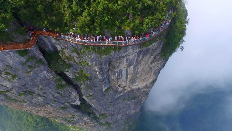 Risultati immagini per monte tianmen