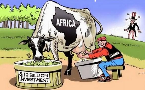 Africa continente ricco affamato