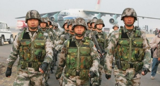 Cina conflitto medio orientale