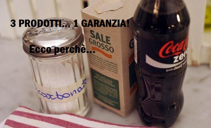 Coca Cola, Sale e Bicarbonato. Chi lo avrebbe mai detto! Il trio vincente per stappare i lavandini senza inquinare