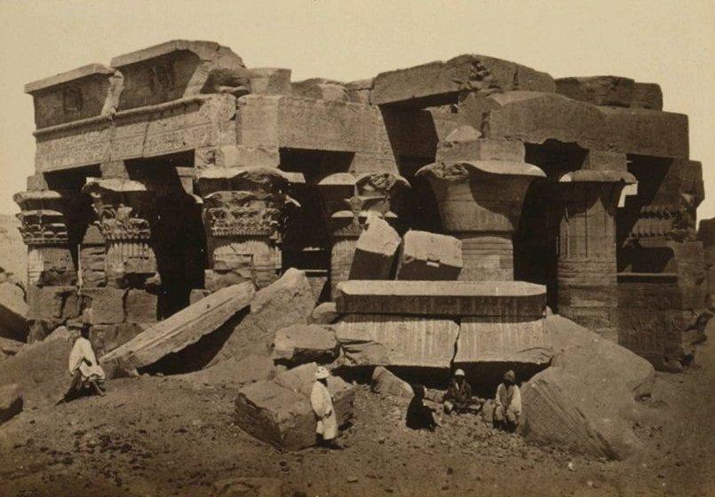 Gli archeologi scoprono un'altra sfinge sepolta nel tempio di Kom Ombo 3