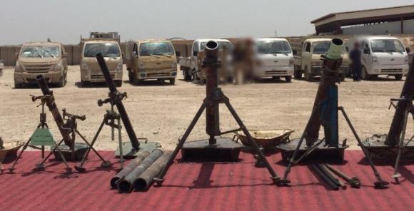 falluja Iraq armi abbandonate isis in fuga