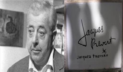 Jacques Prévert poesia d' amore