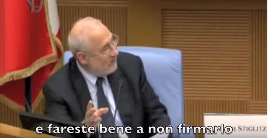 Joseph Stiglitz ttip