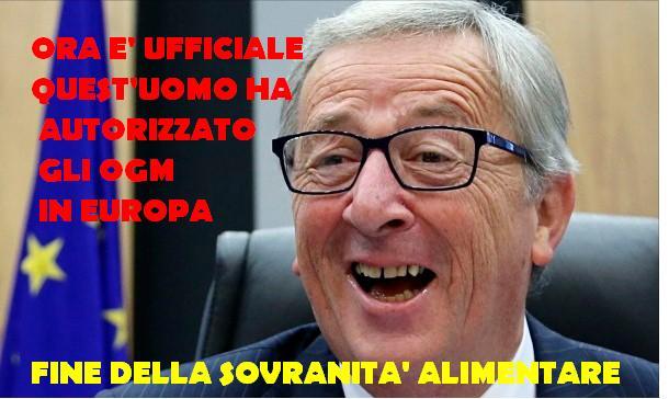 Juncker ogm Europa