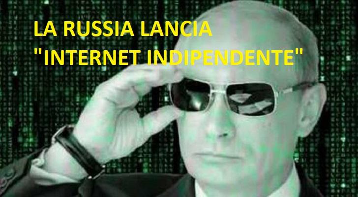 La Russia lancia il nuovo Internet indipendente per i paesi BRICS