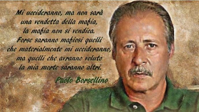 Lettera Paolo Borsellino prima della morte