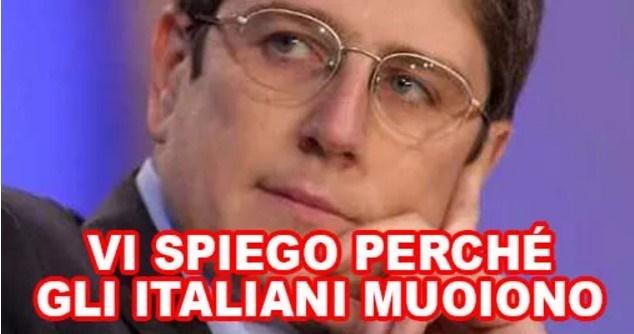 Mario Giordano italiani muoiono