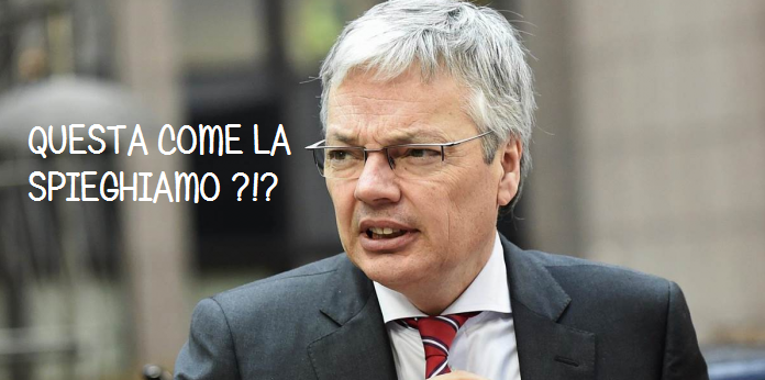 Ministro degli esteri belga