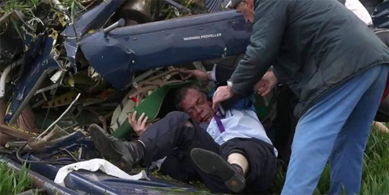 Nel maggio 2010 venne coinvolto in un incidente aereo mentre viaggiava su un aereo da turismo che sventolava uno striscione elettorale del partito, dal quale uscì quasi illeso.