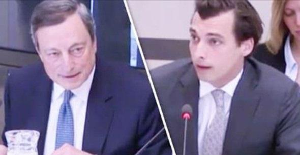 Olanda un deputato chiede a Draghi la restituzione di 100 miliardi di euro in caso di uscita dall'eurozona