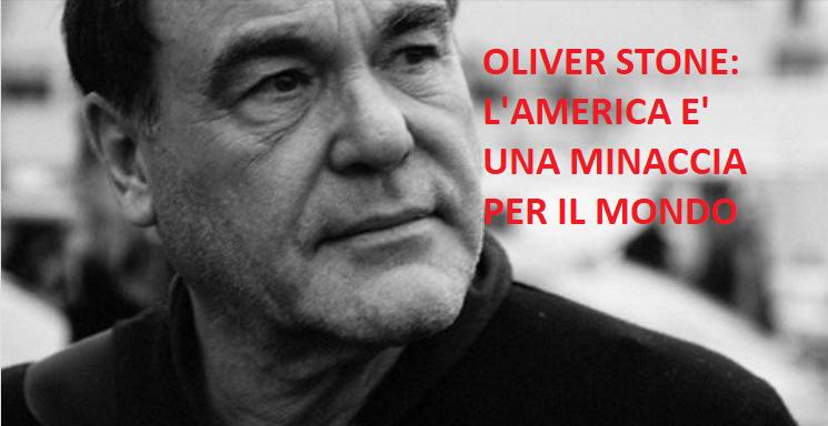 Oliver stone dimenticate l' isis è l'america la vera minaccia per il mondo