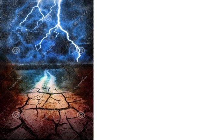 """Tempeste ed inondazioni,o siccità.Niente più """"mezze misure"""".Ecco spiegato il perchè.IL VIDEO"""