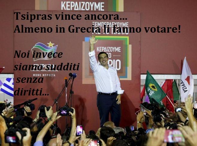 Tsipras vince elezioni