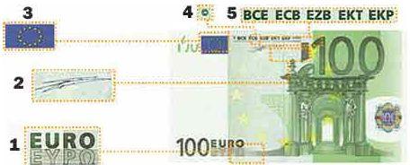 Banconota falsa euro