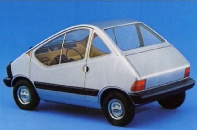 X1-23 Concept auto elettrica Fiat 2