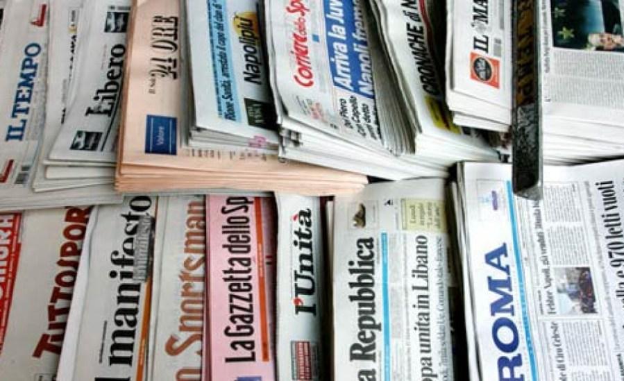 a chi appartengono le testate giornalistiche italiane