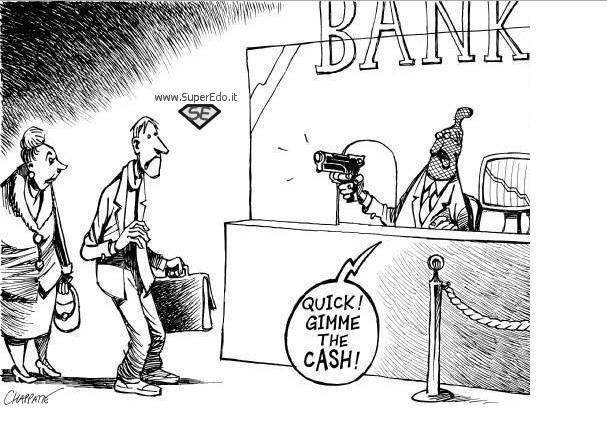 abolizione del contante e bail in