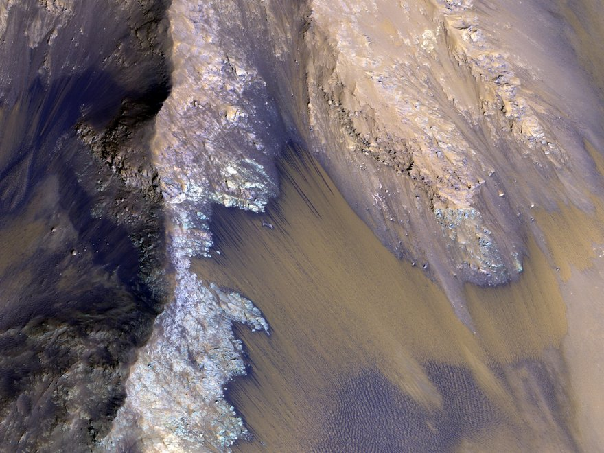 acqua su Marte nasa