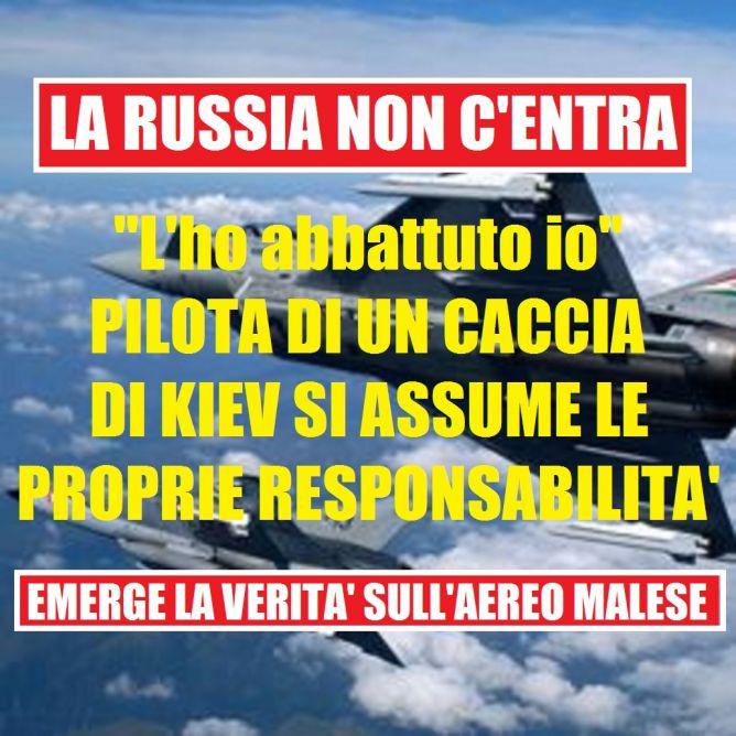 aereo malese abbattuto ucraina russia
