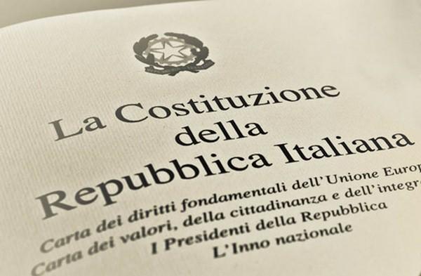 articoli costituzione