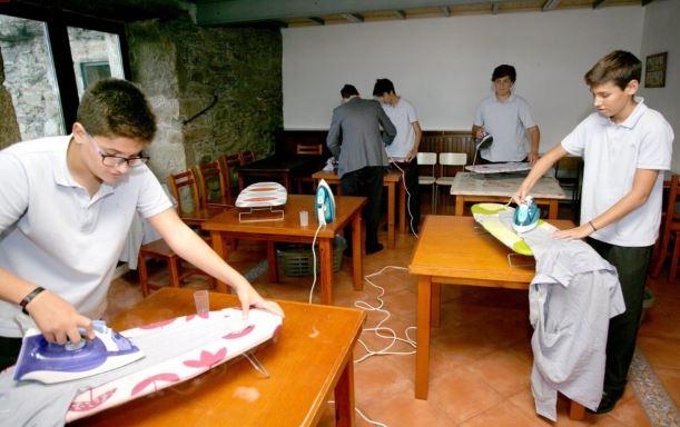 attività domestiche a scuola