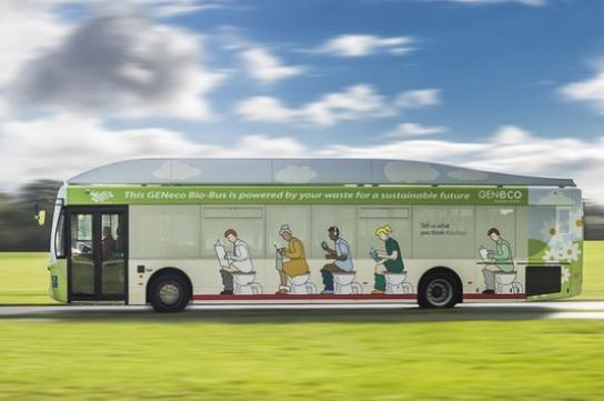 autobus escrementi umani