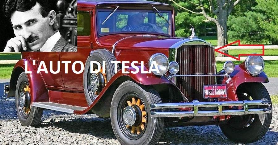 automobile spinta dall' etere di nikola tesla