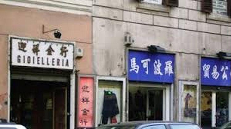 aziende cinesi negozi