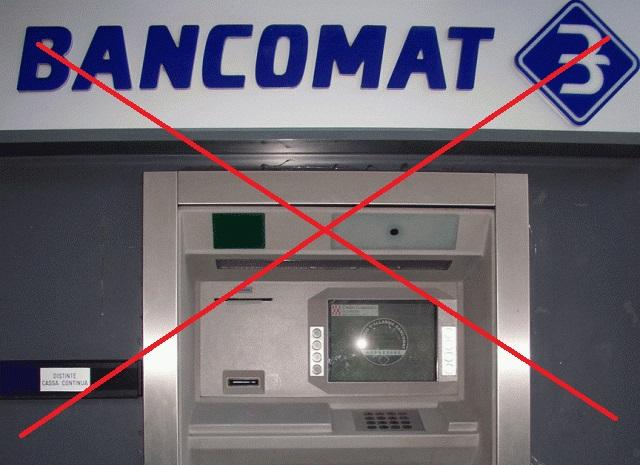 digitalizzazione bancomat perchè stanno scomparendo dai centri commerciali e dalle strade