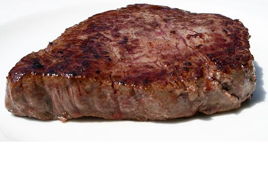 bistecca bruciata carne rossa