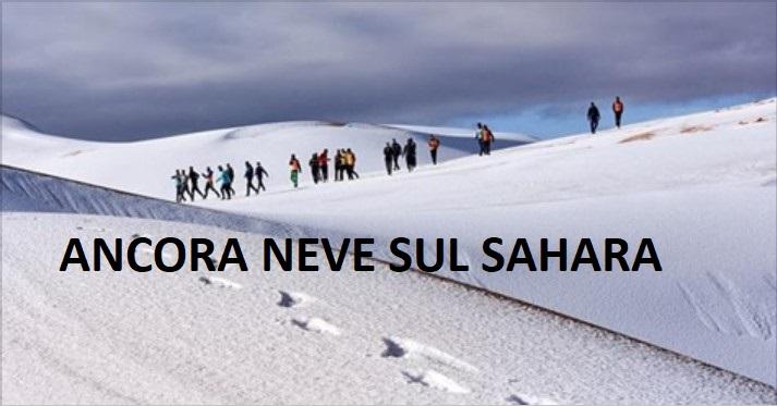 cambiamenti climatici neve sul Sahara 2