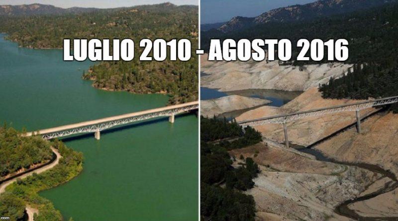 Cambiamenti climatici: Le foto shock della NASA del prima e dopo