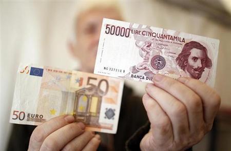 passaggio lira euro rapina