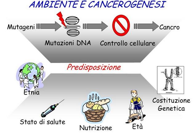 cancro predisposizione fattori