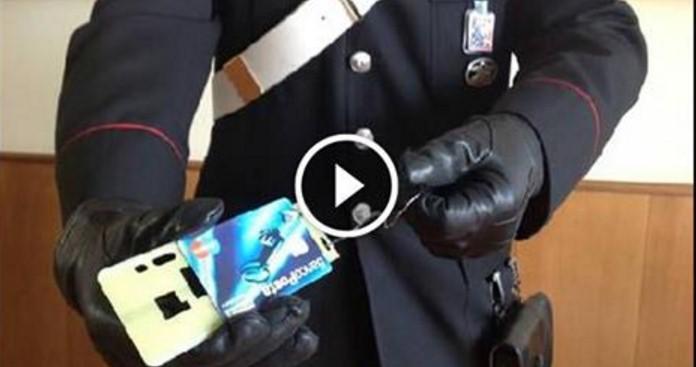 carabiniri truffa bancomat cash trapping