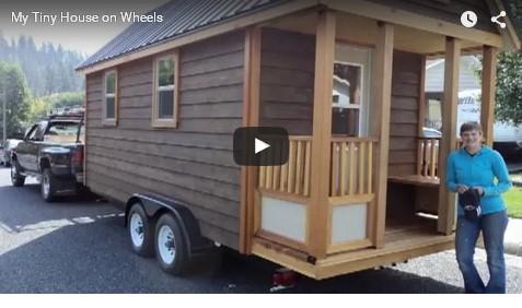 casa anticrisi su carrello con ruote