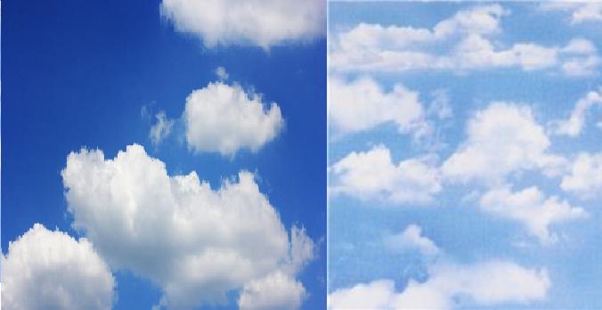 Perchè il cielo non è più blu come una volta Ecco la risposta