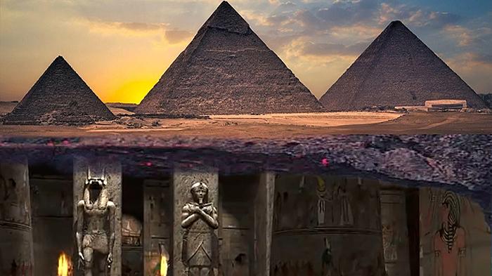 città nascosta sotto le piramidi di giza 2