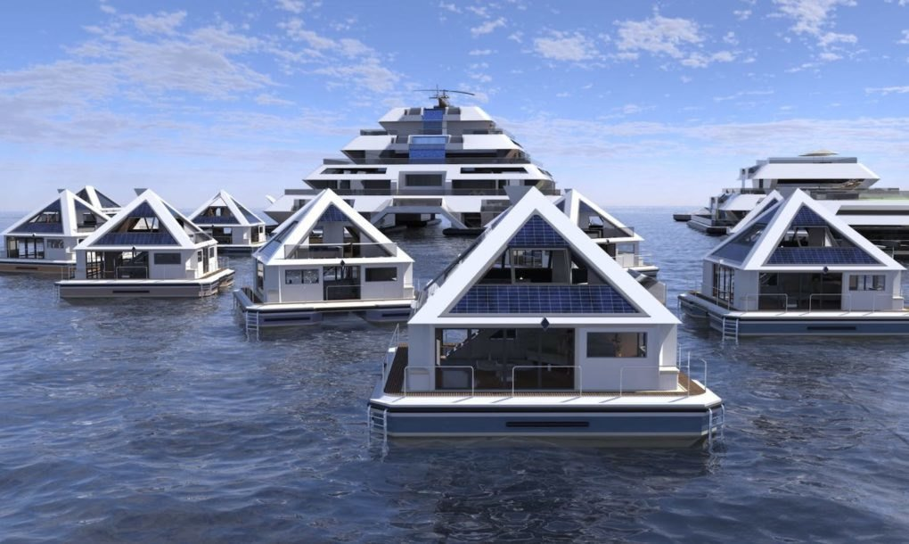 Città a piramide: il complesso che produce per sé cibo, acqua ed elettricità