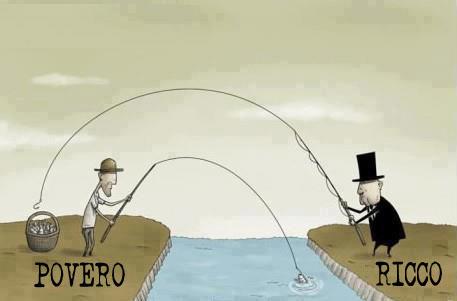 La crisi è solo per i poveri: in Italia i ricchi raddoppiano il patrimonio