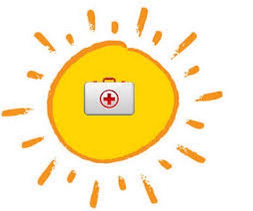 curarsi con la luce del sole