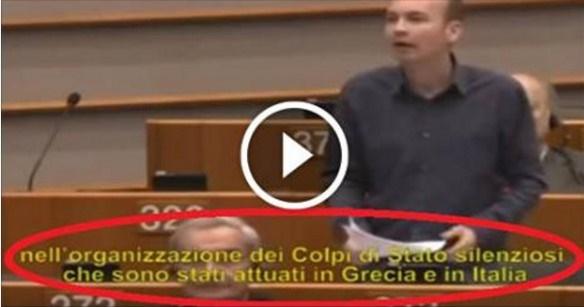 denuncia shock parlamento europeo censurata Mario Draghi