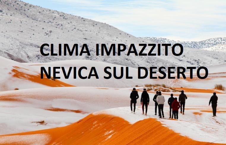 deserto del Sahara la nevicata che ha stupito tutti