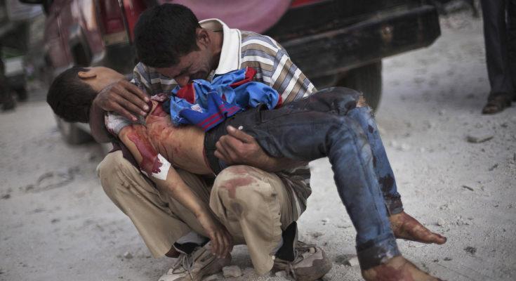 bambino siriano dirò cosa mi hanno fatto a dio