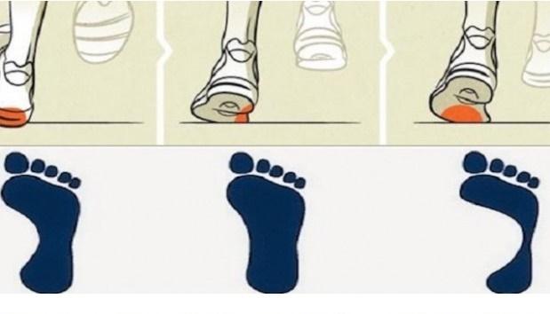 dove si consumano le scarpe cattive abitudini