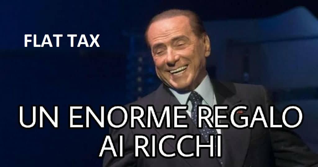 flat tax inganno regalo ai ricchi
