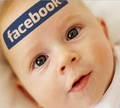 genitori figli facebook foto